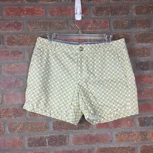 Banana Republic Geometric Print Shorts, Sz 6